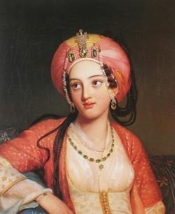 Подборка картин «Восточная женщина в живописи»