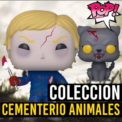Lista de figuras funko pop de Funko POP Cementerio de Animales 2019