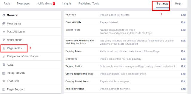 Cara Menambah Admin Pada Fanspage Facebook