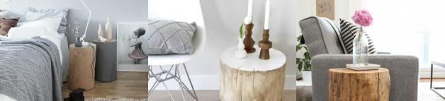 tronco-decoración