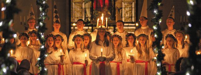 13 December 2018 - Hari Empat ba Minggu Kedua Musim Penatai (Adven) (Memorial of Saint Lucy, Virgin and Martyr)