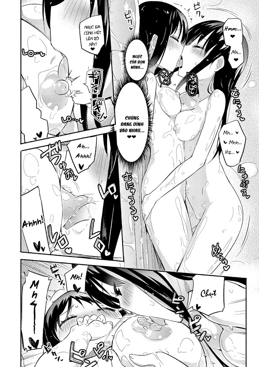HentaiVN.net - Ảnh 16 - Tuyển tập Yuri Oneshot - Chap 94: The Momoyuri Academy Secret Soapland Club