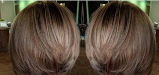 Ashy Balayage Blonde Hair Cut