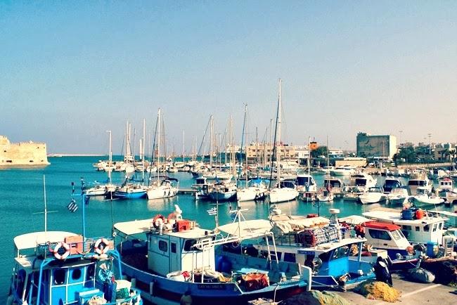 Heraklion old port