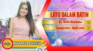 Lirik Lagu Layu Dalam Batin - Nella Kharisma