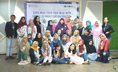 cara memaksimalkan pendapatan penghasilan atau uang dari iklan di blog melalui props nurul sufitri lifestyle mom blogger tips info monetisasi iklan google adsense ad manager google channel partner blogger perempuan network