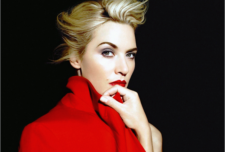 Kate Winslet Beautiful Bold in Red Photography