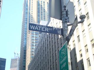 Nova York - Water Street
