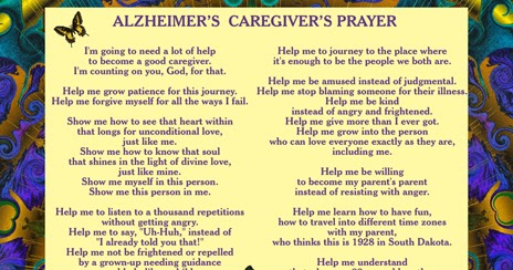 Plant City Lady and Friends: Prayer for the Caregiver/Lovegiver