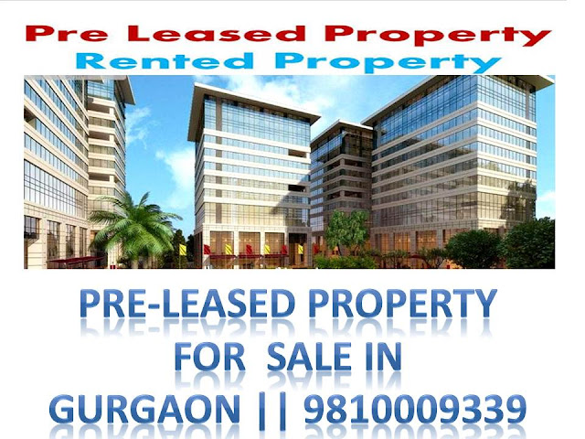 Pre-leased property for sale at Baani The Address Golf Course Road Gurgaon