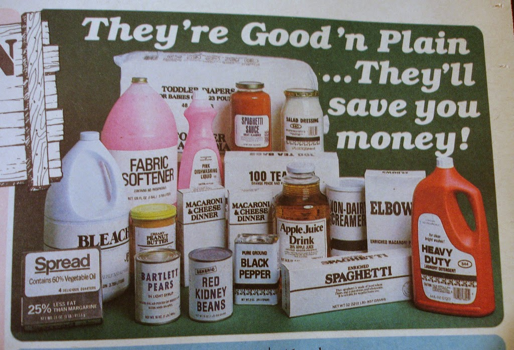 History's Dumpster: Generic Products of The '80s
