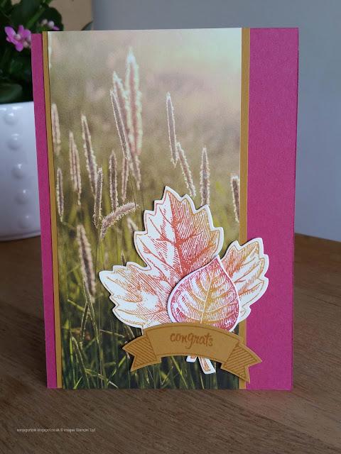 Vintage Leaves - Leaves Framelits Dies - Serene Scenery Paper Stack