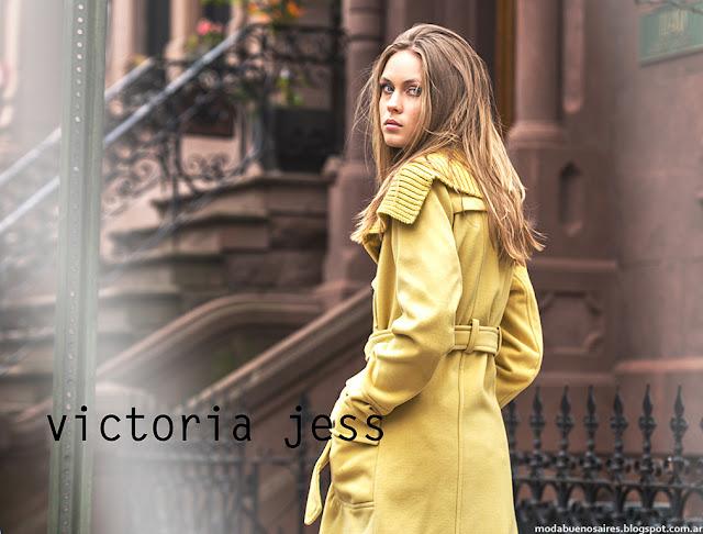Vitoria Jess otoño invierno 2016. Moda otoño invierno 2016 casual urbana y femenina.