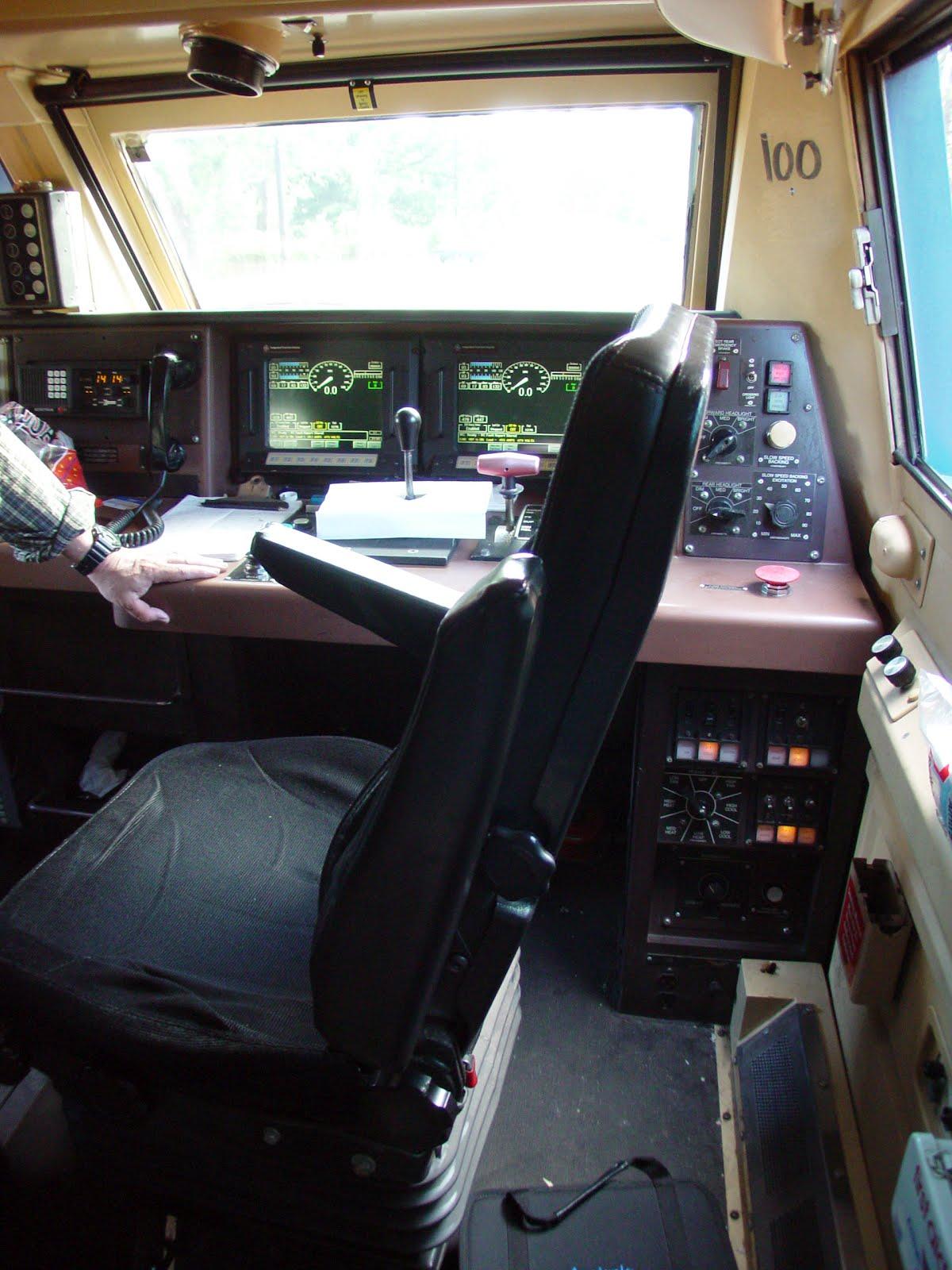 Milepost 154 A Train Blog Inside An Amtrak Ge P42dc