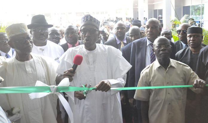 President Buhari inaugurates 200-bed hospital in Benin