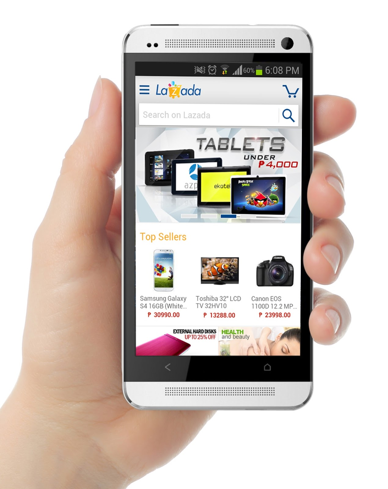 Lazada Launches New Mobile Shopping App for Android