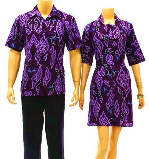 10 Model Baju Batik Sarimbit Modern Terbaru 2018: 10 Model Baju Batik Modern Pria Dan Wanita Terbaru