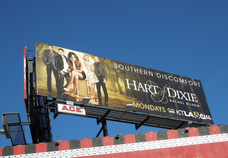 Hart of Dixie TV billboard