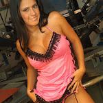 Andrea Rincon, Selena Spice Galeria 38 : Baby Doll Rosado, Tanga Rosada, Total Rosada Foto 27