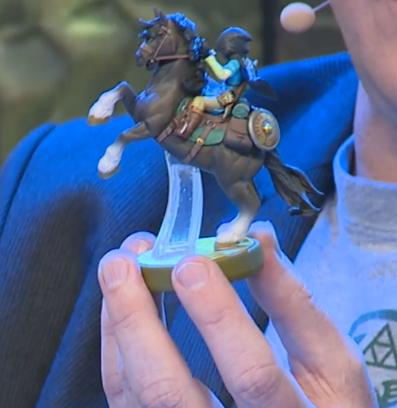 Rider Link amiibo Nintendo Legend of Zelda horse hood