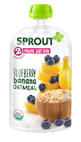Sprouts Organic Foods, Baby Food, Sprout Pouches, whole foods