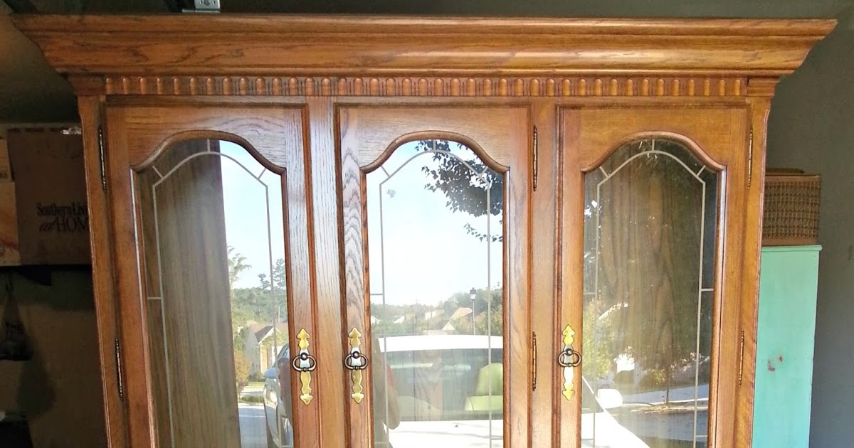 Belle & Beau Antiquarian: Distressed White China Cabinet