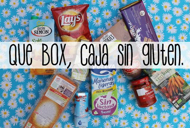 Que box, caja mensual sin gluten