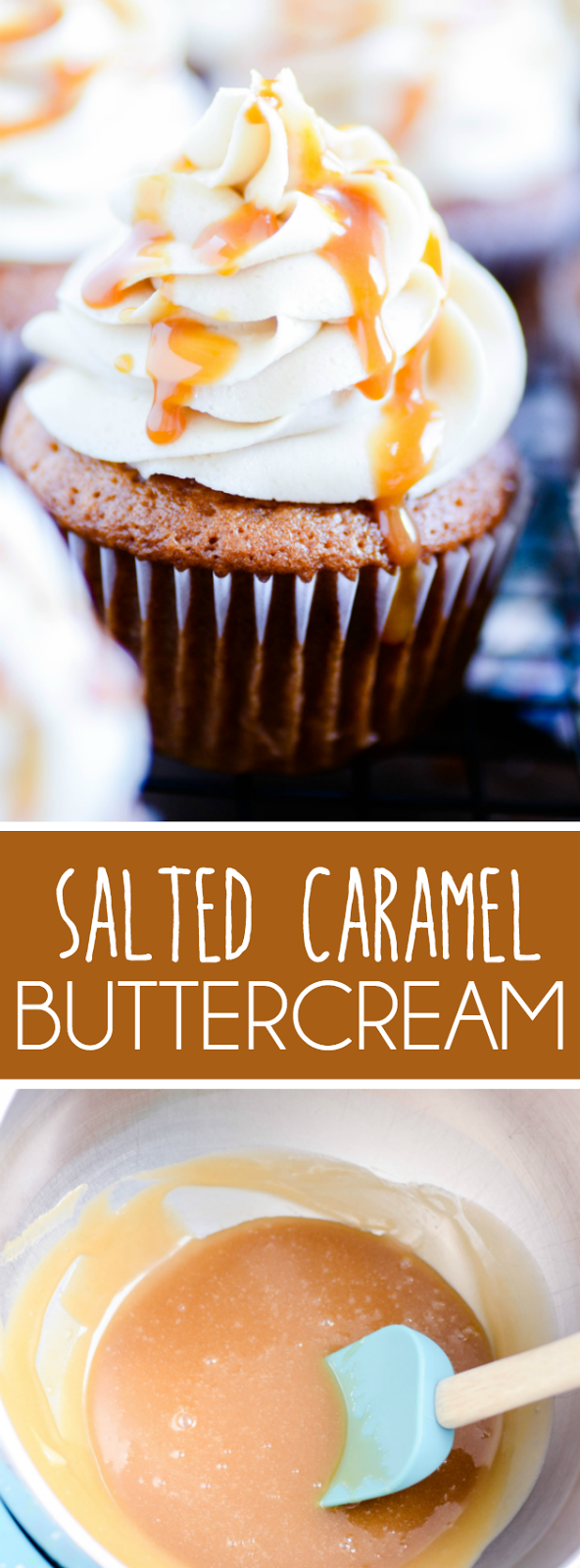 The most perfect caramel frosting of all time. Easy to make and easier to eat!
