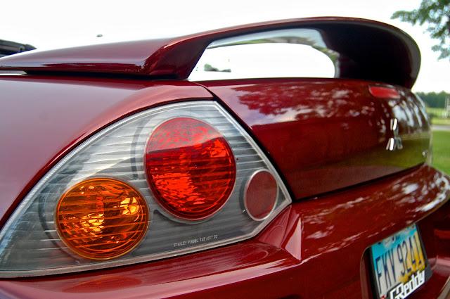Mitsubishi Eclipse 3G, po faceliftingu, tylne lampy