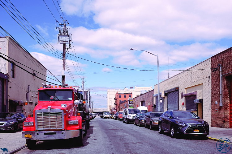 Le Chameau Bleu - Blog Voyage New York City Rue de Red Hook dans Brooklyn - Voyage à New York