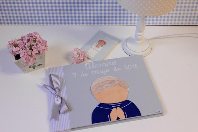 comunión-album-fotos-libro de firmas-personalizado