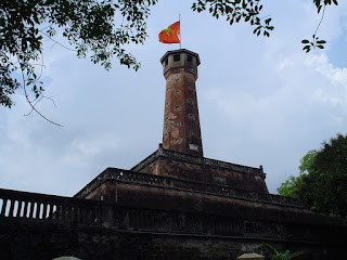 And Flag Tower of Hanoi Citadel