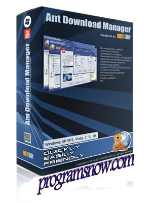 برنامج النمل للتحميل من الانترنت Ant Download Manager Free