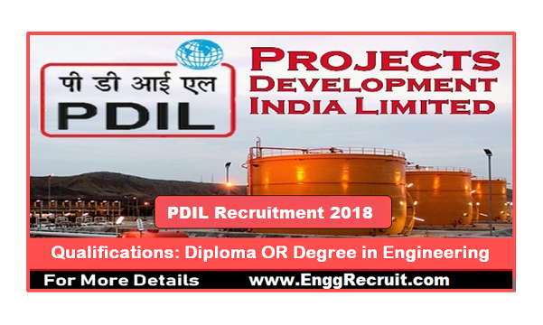 PDIL Recruitment 2018