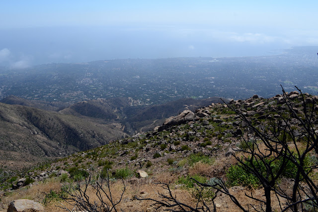 south into Hot Springs Canyon