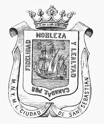 Resultado de imagen de escudo san sebastian