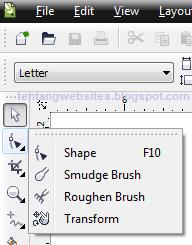 Fungsi shape tool