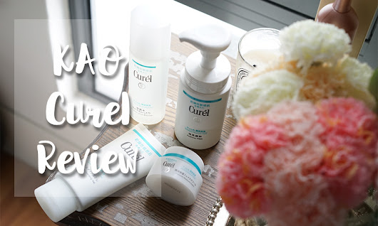 Emily's Anthology - a Malaysian beauty blog: YouTube Road Test: KAO Curel skincare
