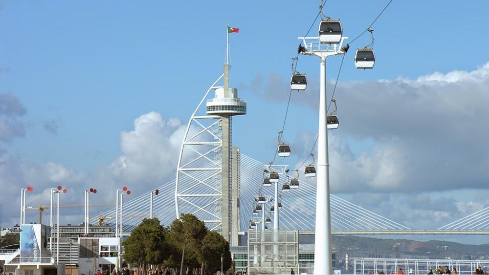Pontos turísticos: Teleférico de Lisboa