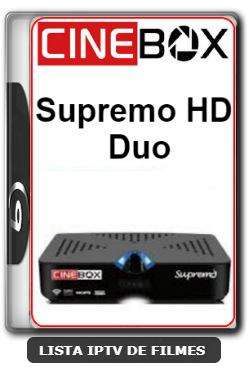 Cinebox Supremo HD Duo Nova Atualização Correção Nas Keys SKS 61w - 11-02-2020