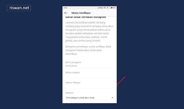 Cara Mengajukan Tanda Verifikasi pada Akun Instagram