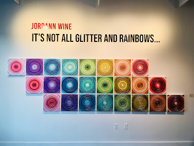 "Jordann Wine It's Not All Glitter And Rainbows"""