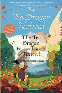 book reviews, book review, the tea dragon festival, tea dragon, kate o neill, graphic novel, middlegrade, illustrations, illustrated, childrens book, dragons,