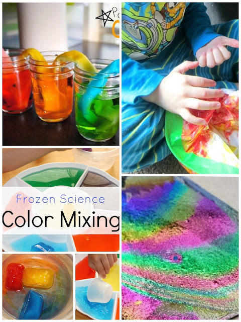 color mixing activiites for kids