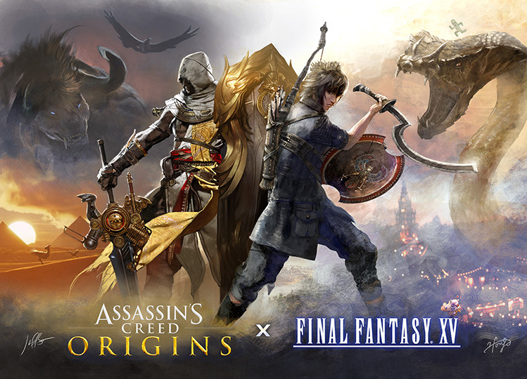 Final Fantasy Xv Dapat Dlc Assassin S Creed Origins Gratis Puticiro Error 404 Puticiro