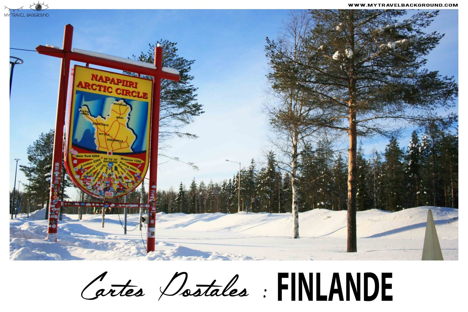 My Travel Background : carte postale de Finlande