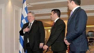"""Στο """"πνέυμα και την παράδοση"""" εναπόθεσε τις ελπίδες του ο Ντιμιτρόφ για λύση του Σκοπιανού"""