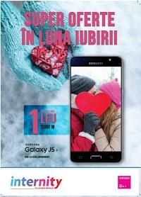 """Catalog Internity: """"Super oferte în luna iubirii"""""""