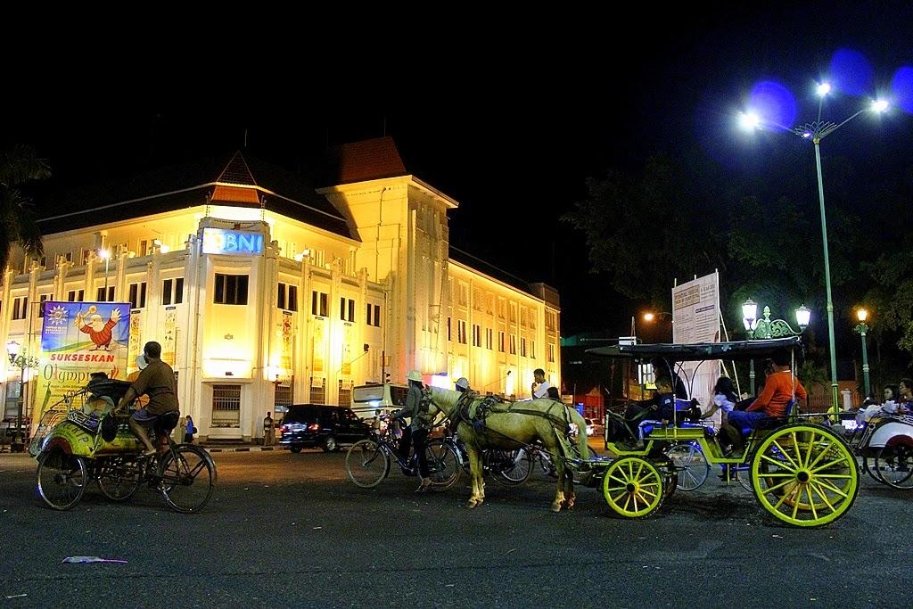 Titik Nol Kilometer Jogja - Destinasi Wisata Malam Yogyakarta