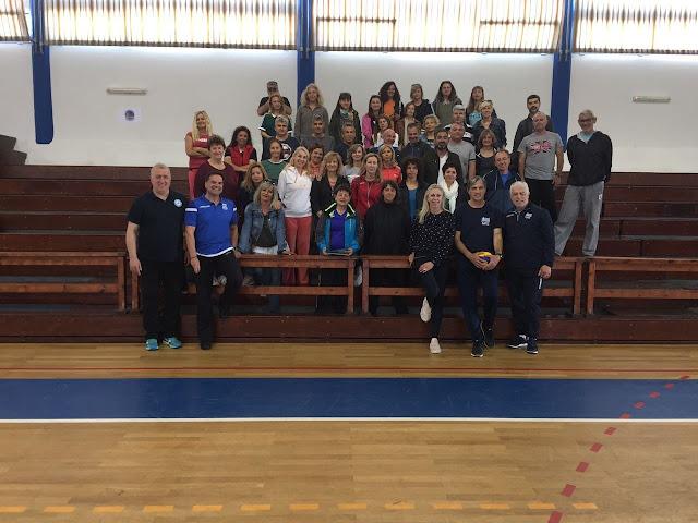 Σεμινάριο πετοσφαίρισης της Ε.Ο.ΠΕ. στους εκπαιδευτικούς της Αργολίδας στο Ναύπλιο